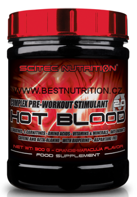 Scitec Hot Blood 2.0 300 g