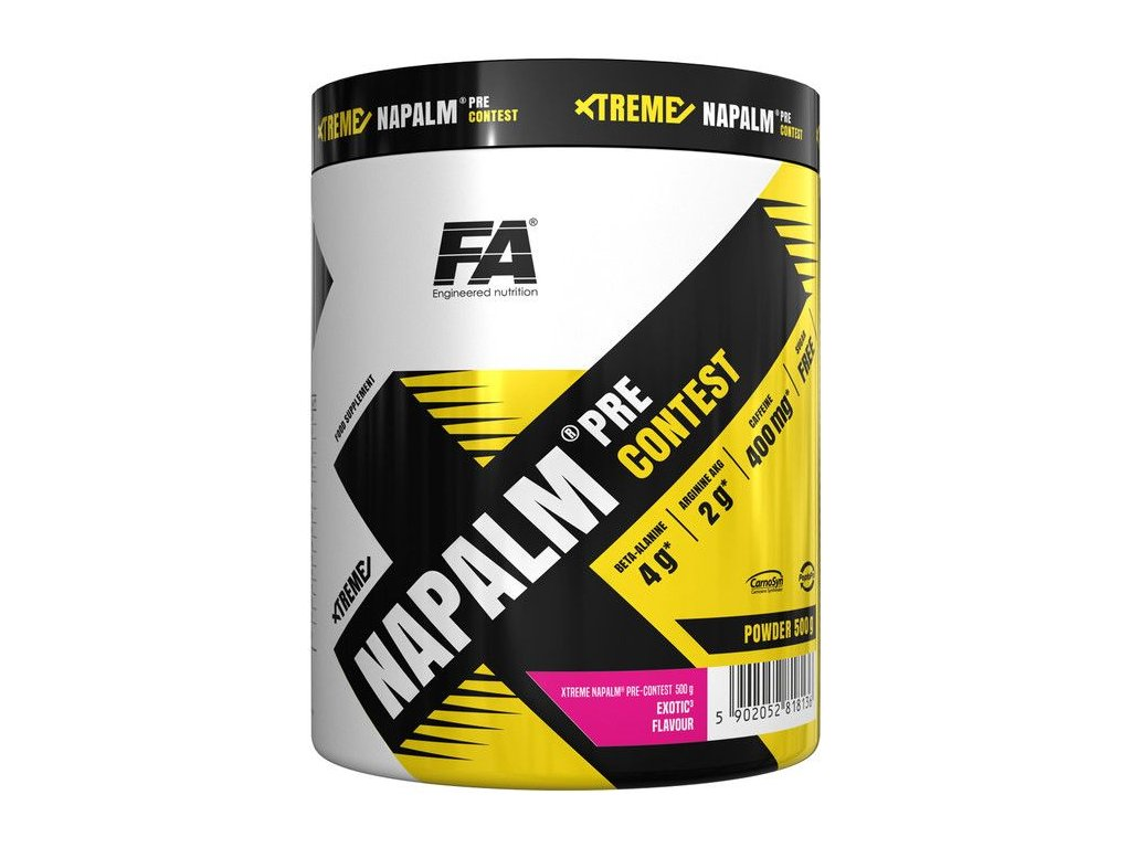 Fitness Authority Xtreme Napalm Pre-Contest 500 g