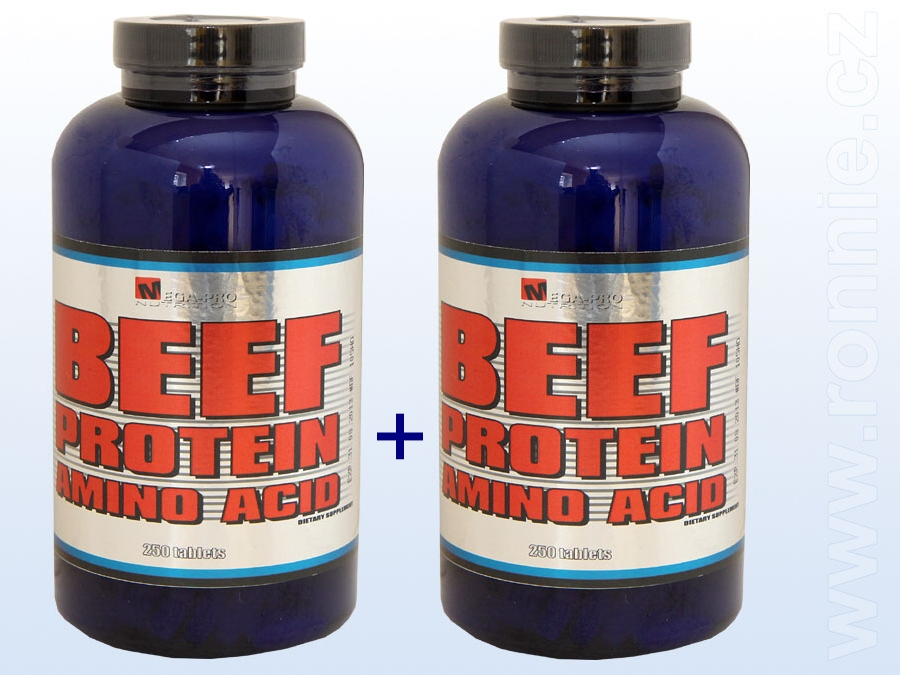 BEEF AMINO 250 tbl. 1+1 500 TBL !!