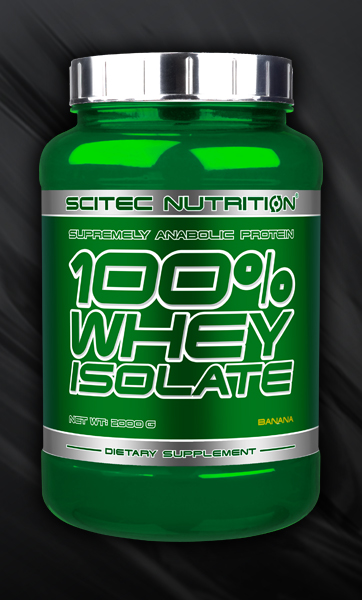 100% WHEY ISOLATE 2000g.