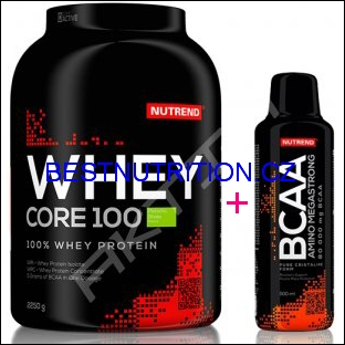 WHEY CORE 100 2,27Kg + 0,5 l BCAA 80 000