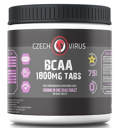 Czech Virus BCAA 1800 150 tablet