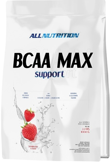 All Nutrition BCAA MAX Support 1000 g